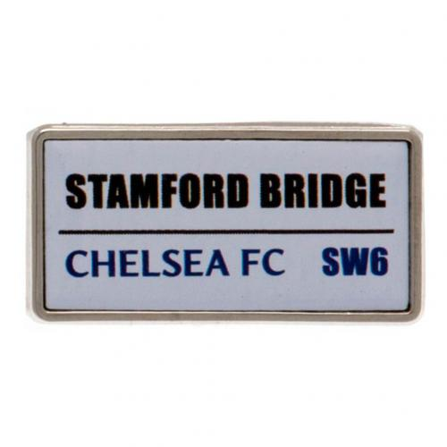 Chelsea FC Pin Badge - Street Sign