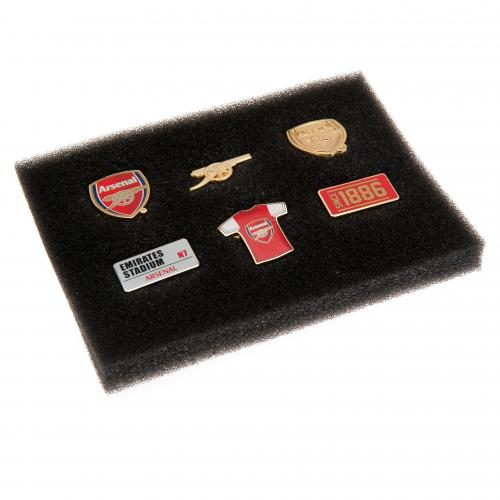 Arsenal FC Pin Badge Set