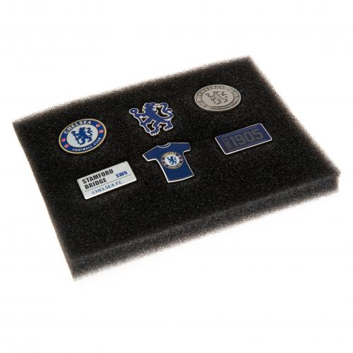 Chelsea FC Pin Badge Set