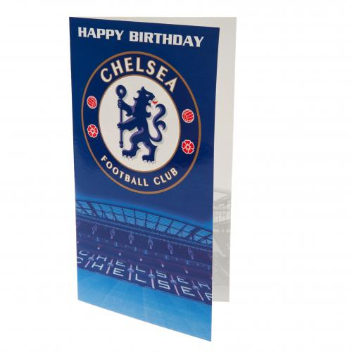 Chelsea FC Birthday Card