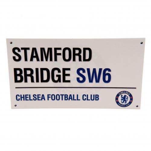 Chelsea FC Birthday Card Street Sign