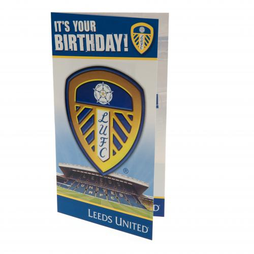 Leeds United FC Birthday Card
