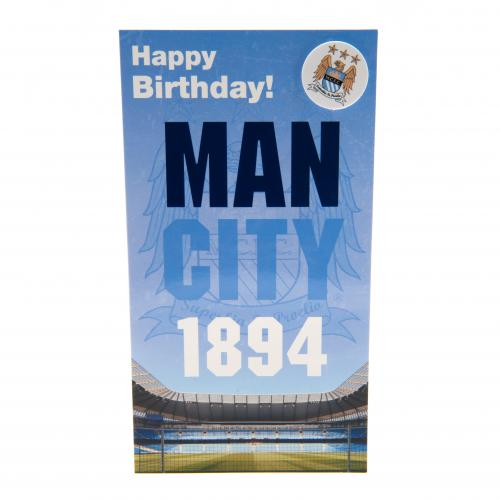 Manchester City FC Birthday Card - 1894