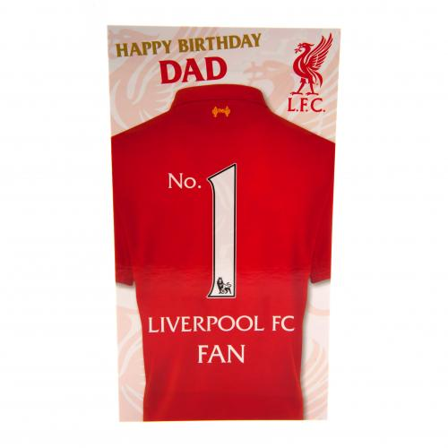 Liverpool fc birthday card dad official football merchandise liverpool fc birthday card dad 1 bookmarktalkfo Choice Image