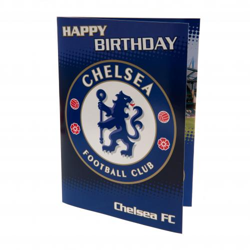 Chelsea FC Musical Birthday Card