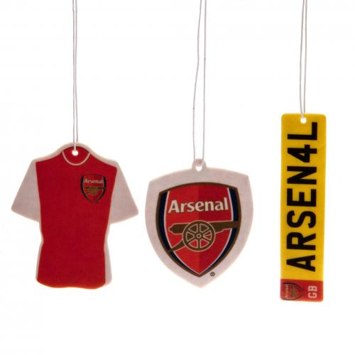 Arsenal FC Air Freshener - 3 Pack