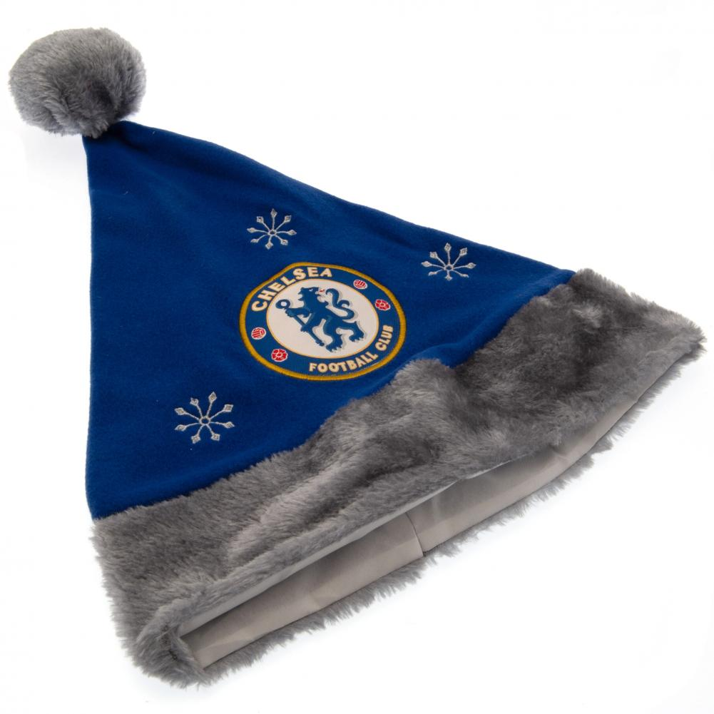 Chelsea F.C Santa Hat Official Merchandise Sports & Outdoors