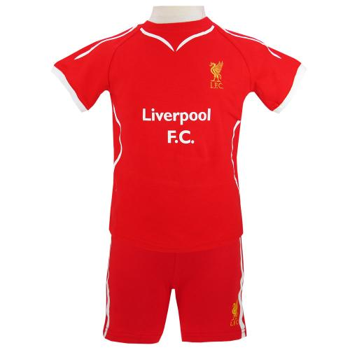 Liverpool FC Baby Kit T-Shirt & Shorts - 3/6 Months