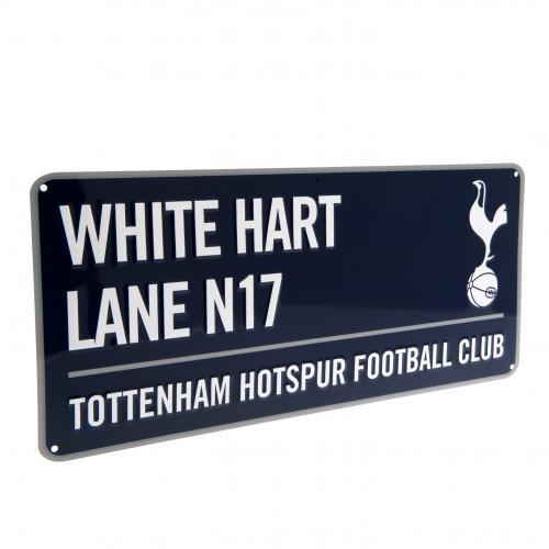 9c9b756d2 Tottenham Hotspur FC Street Sign - Navy | Official Football ...