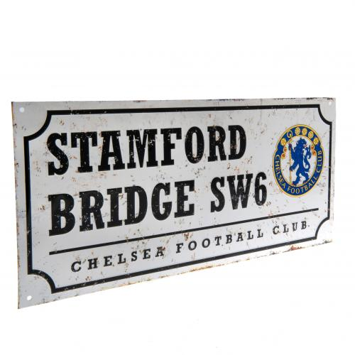 Chelsea FC Street Sign - Retro