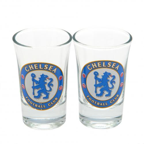 Chelsea FC Shot Glass Set - 2 Pack