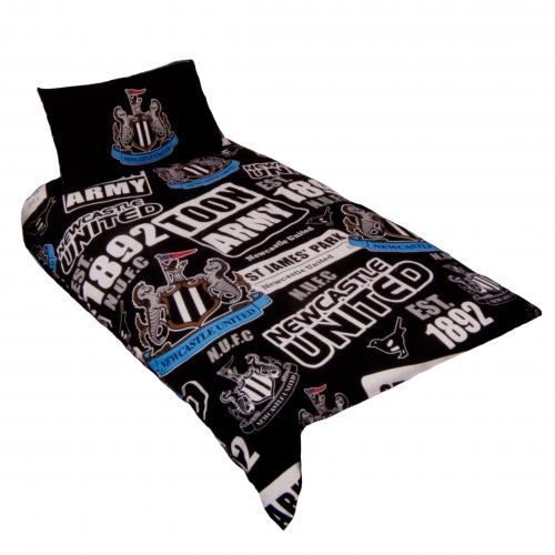 Newcastle United FC Duvet Cover Bedding Set - Single