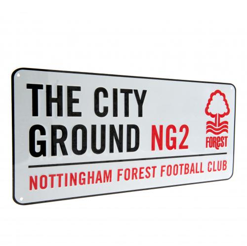 Nottingham Forest FC Street Sign