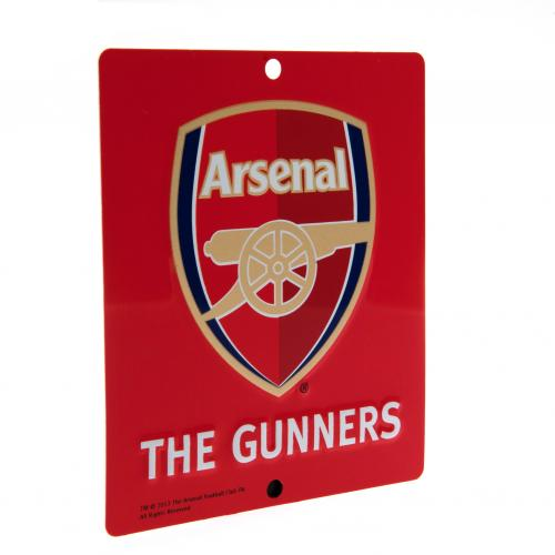Arsenal FC Window Sign - Square
