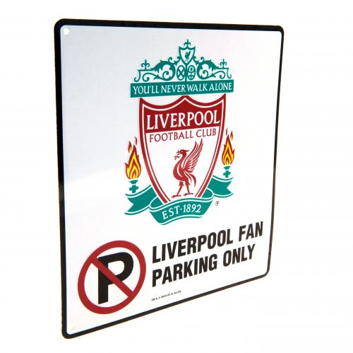 Liverpool FC No Parking Sign