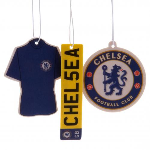 Chelsea FC Air Freshener - 3 Pack