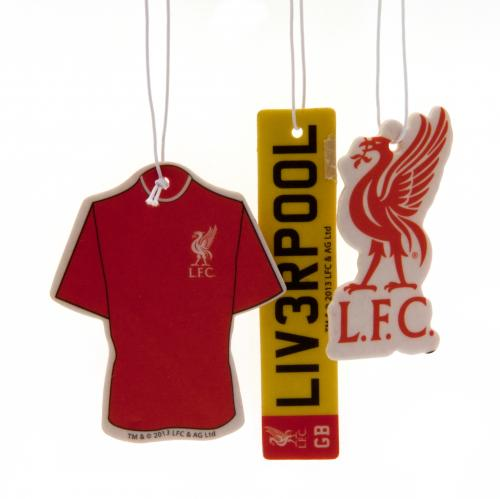 Liverpool FC Air Freshener - 3 Pack