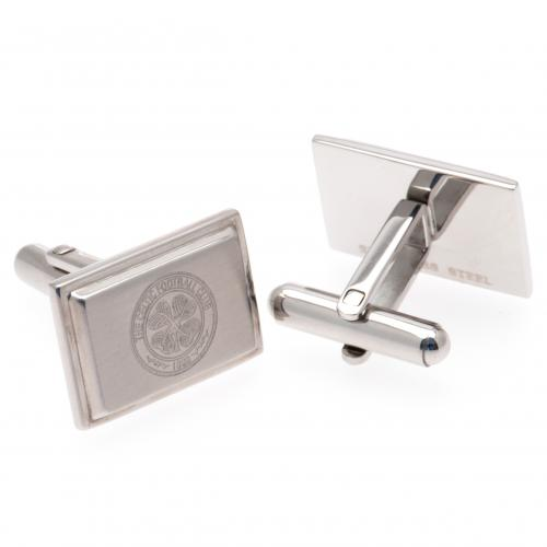 Celtic FC Cufflinks - Stainless Steel