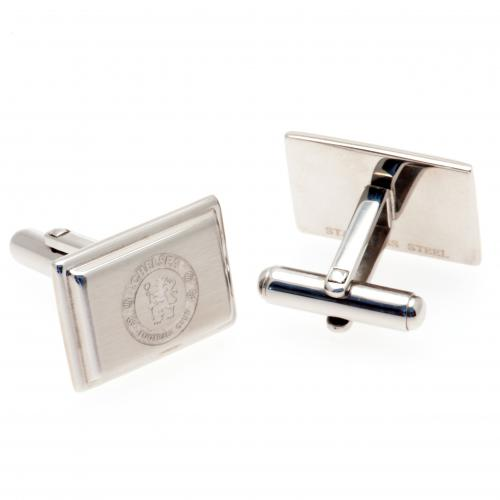 Chelsea FC Cufflinks - Stainless Steel