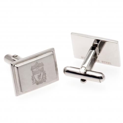 Liverpool FC Cufflinks - Stainless Steel
