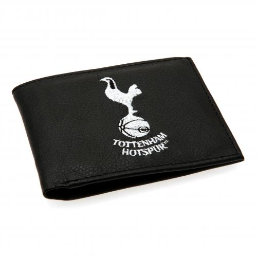 Tottenham Hotspur FC Leather Wallet - Embroidered Crest