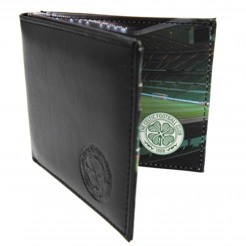 Celtic FC Leather Wallet - Panoramic