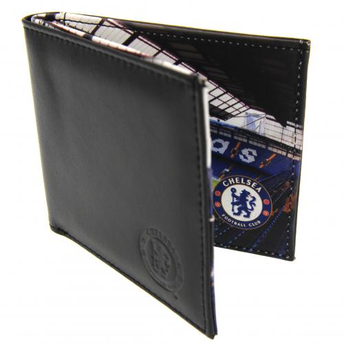 Chelsea FC Leather Wallet - Panoramic