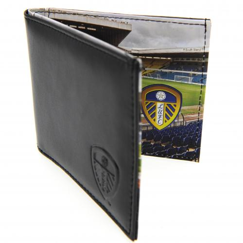 Leeds United FC Leather Wallet - Panoramic