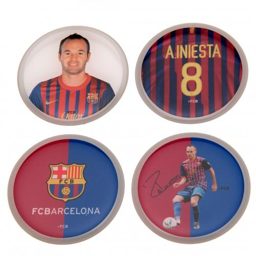 Andres Iniesta 3D Stickers