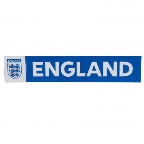 England Car Sticker - Blue