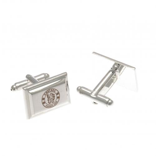 Chelsea FC Cufflinks - Silver Plated