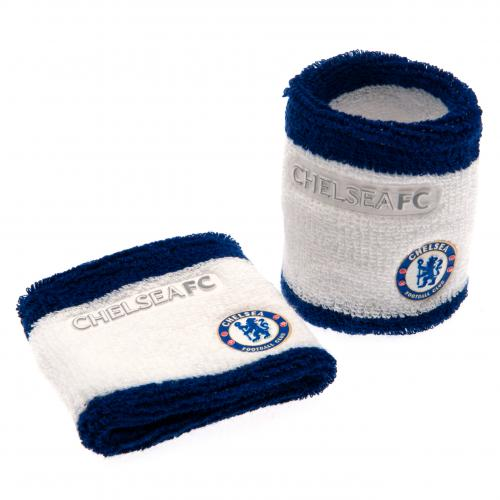 Chelsea FC Wristbands / Sweatbands - White