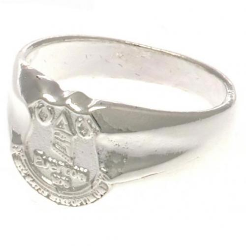 Everton FC Ring - Silver Plated - Size X