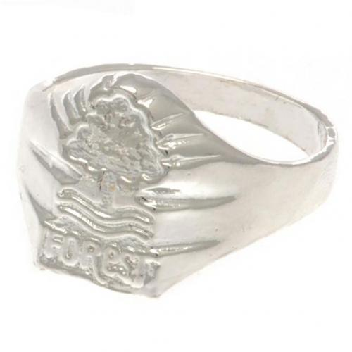 Nottingham Forest FC Ring - Silver Plated - Size U