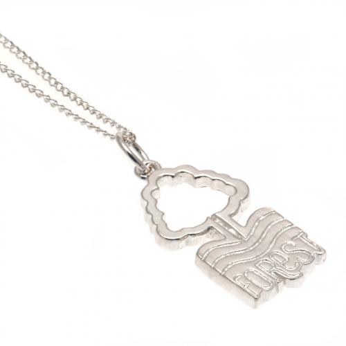 Nottingham Forest FC Pendant & Chain - Sterling Silver