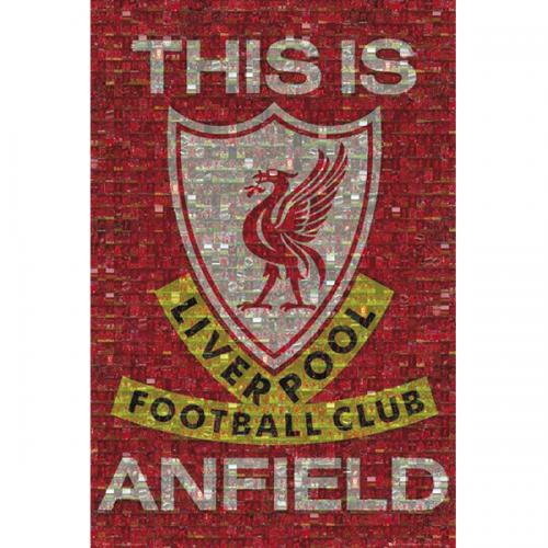 Liverpool FC Poster - Mosaic