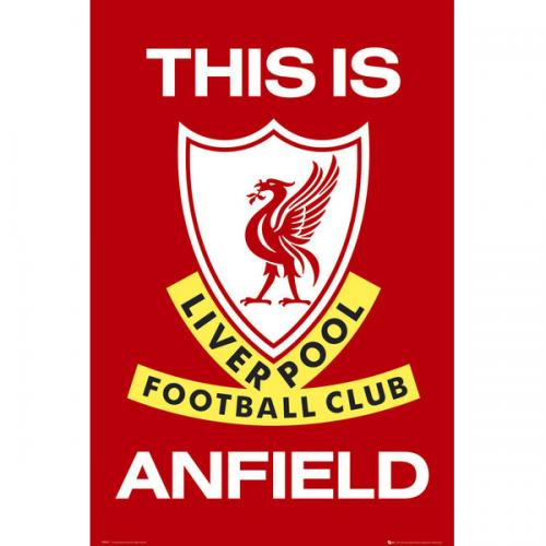 Liverpool FC Poster - This Is Anfield