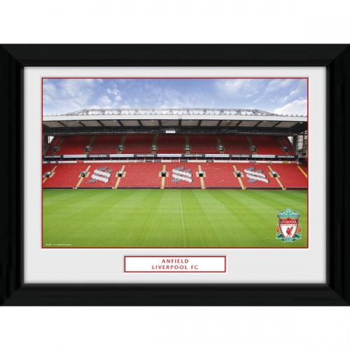 Anfield Stadium Picture - Framed - 16 x 12