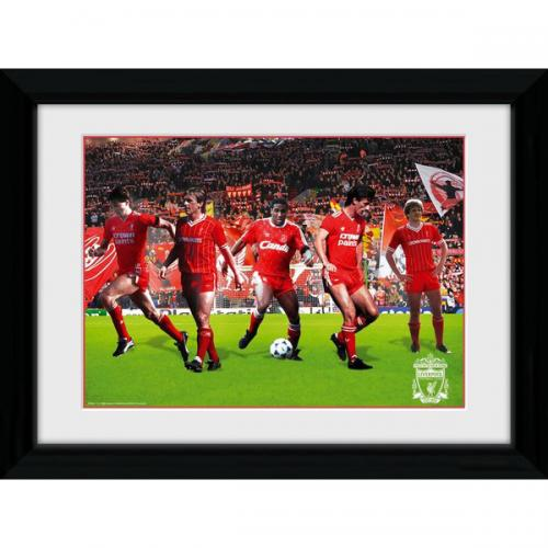 Liverpool FC Picture - Framed - Legends - 16  x 12