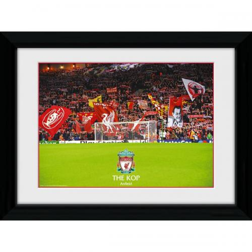 Liverpool FC Picture - Framed - The Kop - 16 x 12