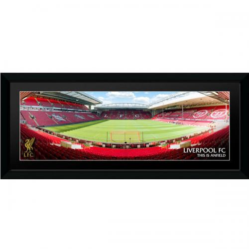 Anfield Stadium Picture - Framed - 30 x 12