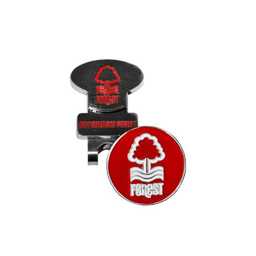 Nottingham Forest FC Hat Clip and Marker