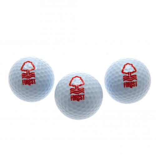 Nottingham Forest FC Golf Balls