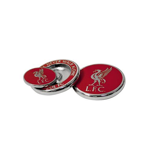 Liverpool FC Golf Ball Marker Duo