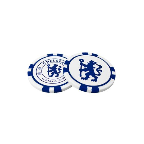 Chelsea FC Golf Ball Markers - Poker Chip
