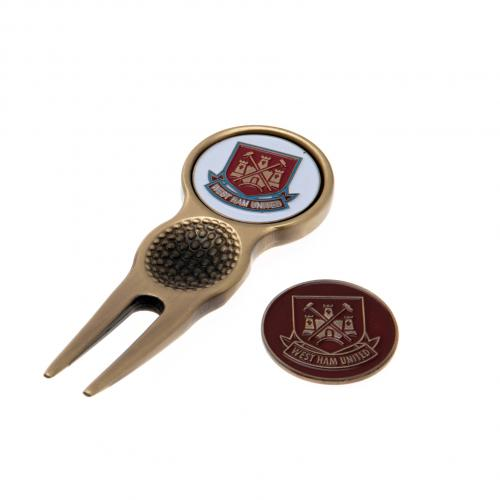 West Ham United FC Divot Tool & Ball Marker