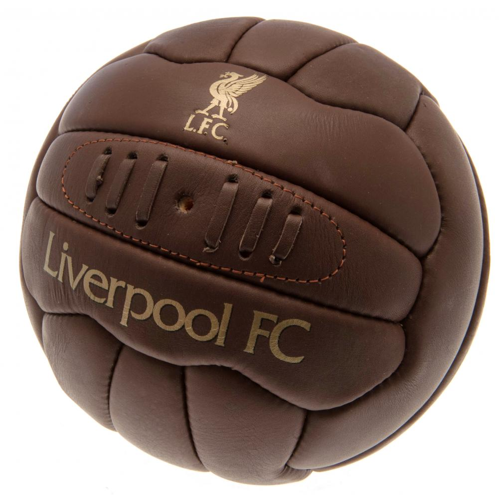 Liverpool FC Official Retro Heritage Ball