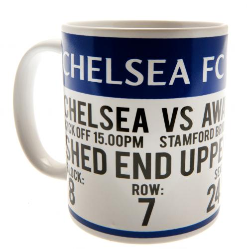 Chelsea FC Mug - Match Ticket