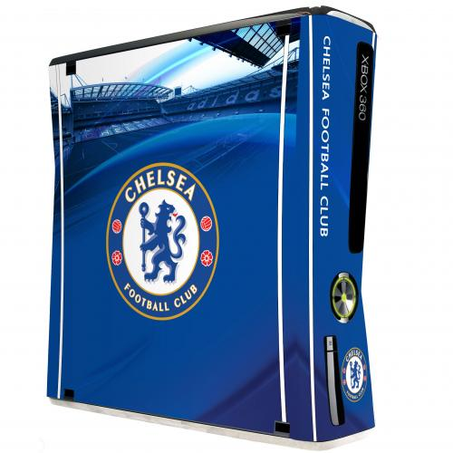 Chelsea FC Xbox 360 Slim Skin / Sticker