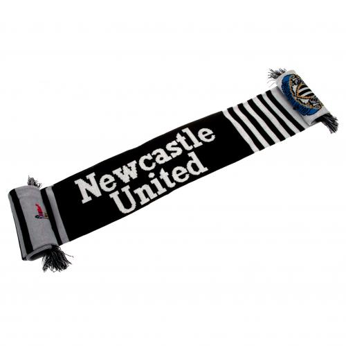 Newcastle United FC Scarf - White Lines